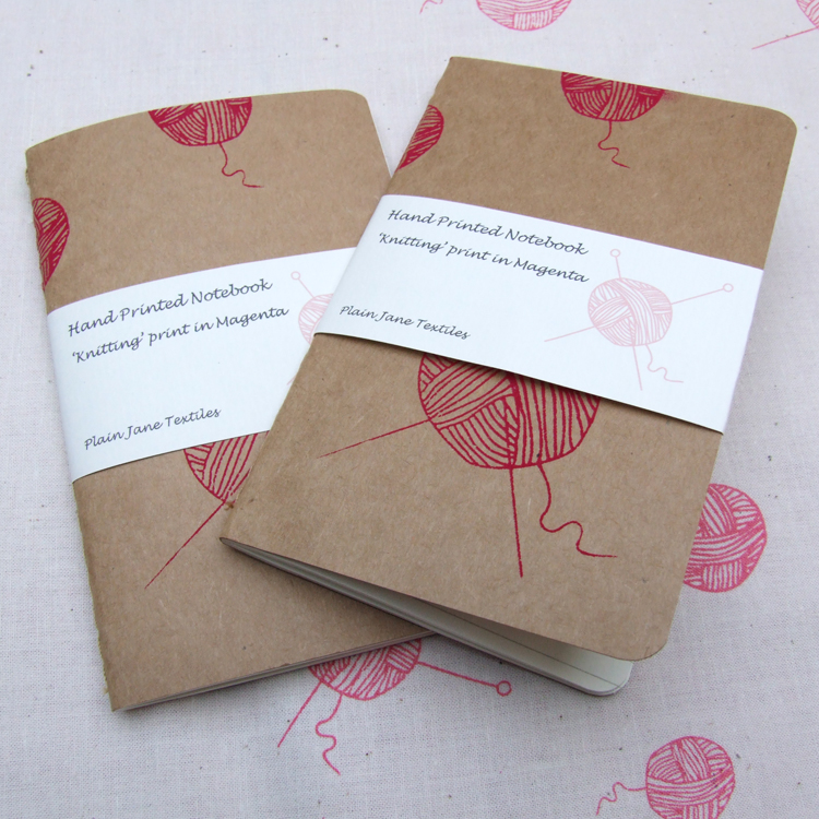 Knitting notebooks