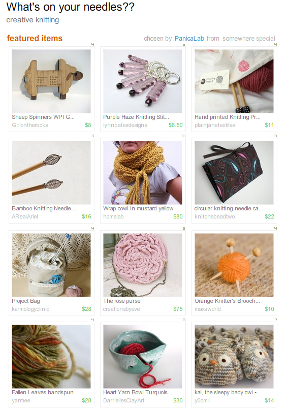 knitting treasury