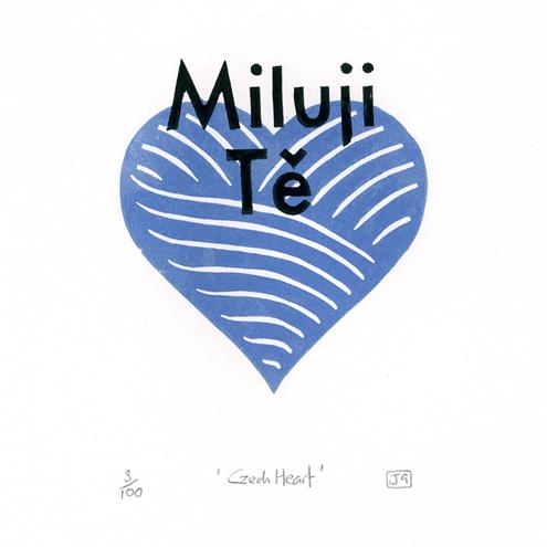 Valentine Blue print