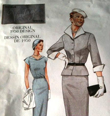Reissued Vogue patterns