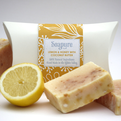 Lemon, Honey & Coconut Butter Natural Spa Soap
