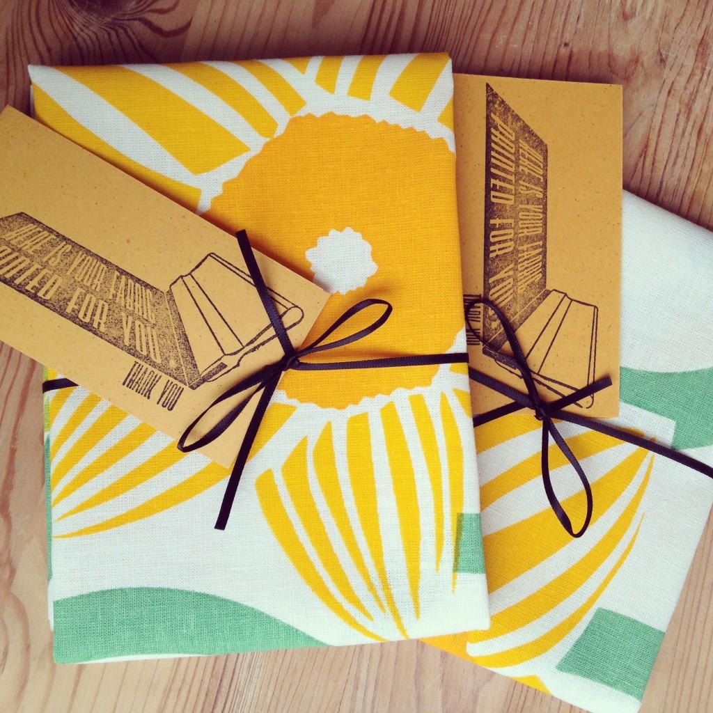 Hand Printed Fabric Swap