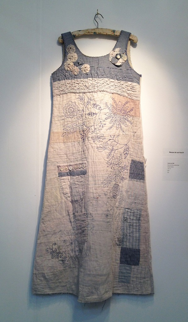 Blue and White Quilted Dress, 2010