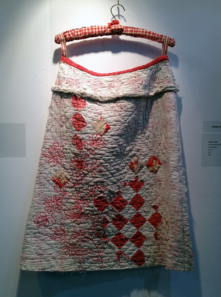 Red Diamonds Quilted Skirt, 2012