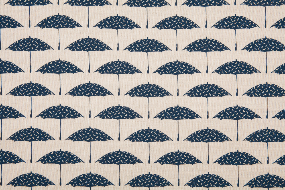 Bird Brolly in Deep Blue