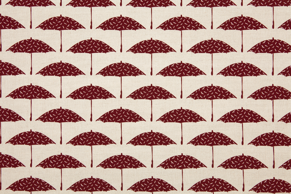 Bird Brolly in Ruby
