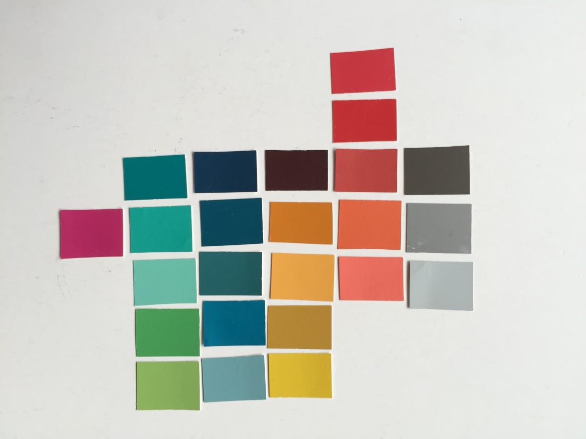 New colour palette